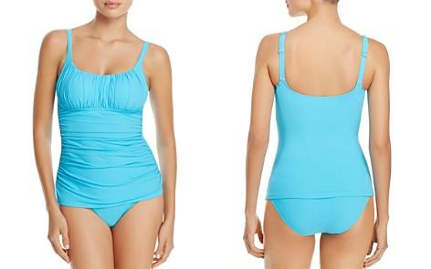 Profile By Gottex Tutti Frutti Ruched Tankini Top & Clean Finish High Waist Bikini Bottom - Bloomingdale's_2