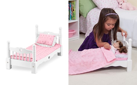 Melissa & Doug Wooden Doll Bed - Ages 3+ - Bloomingdale's_2