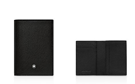 Montblanc Vertical Leather Card Case - Bloomingdale's_2