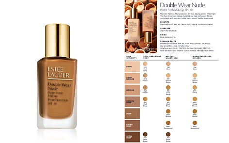 Estée Lauder Double Wear Nude Water Fresh Foundation SPF 30 - Bloomingdale's_2