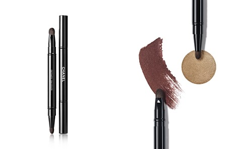 CHANEL LES PINCEAUX DE CHANEL Retractable Dual Tip Eye-Contouring Brush - Bloomingdale's_2
