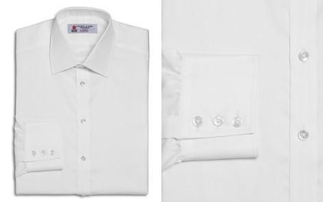 Turnbull & Asser Solid Herringbone Regular Fit Dress Shirt - Bloomingdale's_2