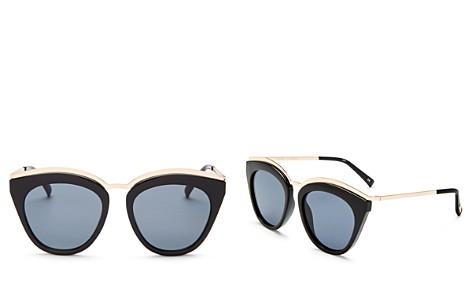 Le Specs Women's Eye Slay Cat Eye Sunglasses, 52mm - Bloomingdale's_2