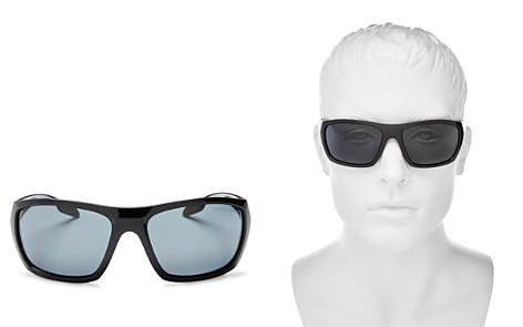 Prada Linea Rossa Sport Wrap Polarized Square Sunglasses, 61mm - Bloomingdale's_2