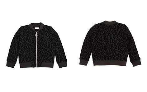 Design History Girls' Leopard Burnout Bomber Jacket - Little Kid - Bloomingdale's_2