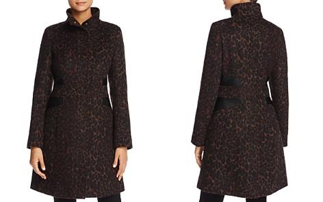Via Spiga Leopard Print Coat - 100% Exclusive - Bloomingdale's_2