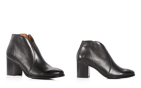 Frye Women's Nora Leather Block Heel Booties - Bloomingdale's_2