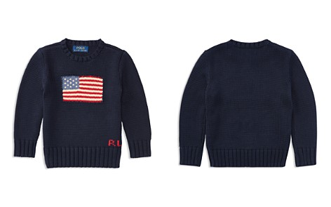 Polo Ralph Lauren Boys' American Flag Sweater - Little Kid - Bloomingdale's_2