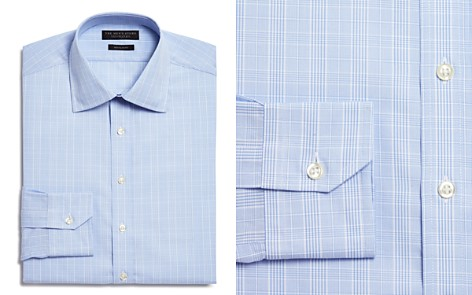 The Men's Store at Bloomingdale's Glen Plaid Regular Fit Dress Shirt - 100% Exclusive_2