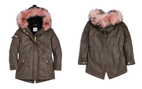 SAM. Girls' Fur-Trimmed Parka - Big Kid - Bloomingdale's_2