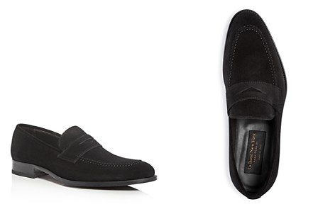 To Boot New York Men's James Suede Penny Loafers - Bloomingdale's_2