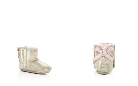 UGG® Girls' Jesse Bow II Nubuck Leather Booties - Baby - Bloomingdale's_2