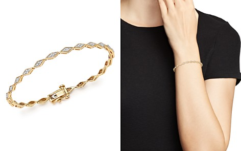 Adina Reyter 14K Yellow Gold Pavé Diamond Tennis Bracelet - Bloomingdale's_2