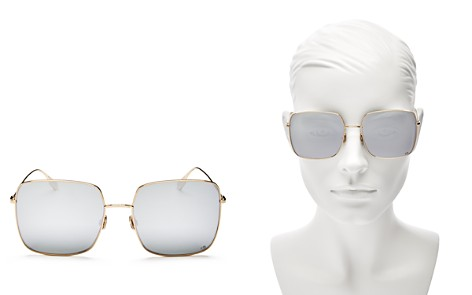 Dior Women's Stellaire1 Mirrored Square Sunglasses, 59mm - Bloomingdale's_2