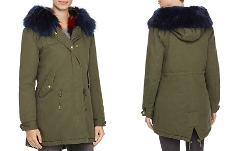 SAGE Collective Faux Fur Trim Anorak - 100% Exclusive - Bloomingdale's_2