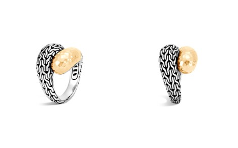 John Hardy Classic Chain Hammered 18K Gold and Sterling Silver Ring - Bloomingdale's_2