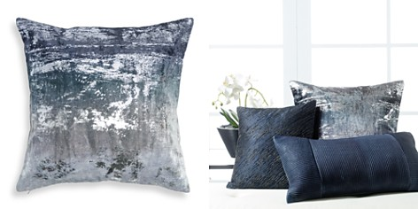 "Donna Karan Ocean Shimmer Ombré Decorative Pillow, 18"" x 18"" - 100% Exclusive - Bloomingdale's_2"