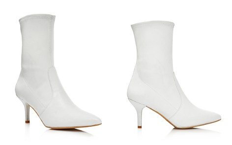Stuart Weitzman Cling Leather Stretch Sock Booties - Bloomingdale's_2