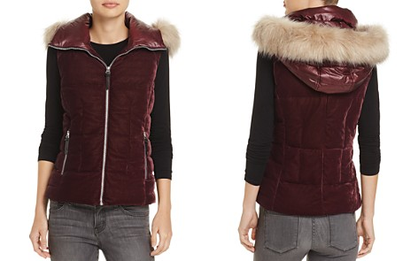Marc New York Val Velvet Puffer Vest - Bloomingdale's_2