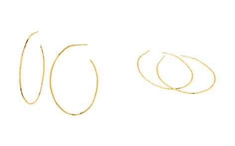 Gorjana Harbour Oval Hoop Earrings - Bloomingdale's_2