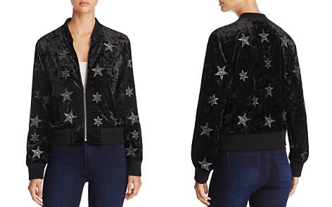 Sanctuary Stargazer Embroidered Crushed Velvet Bomber Jacket - 100% Exclusive - Bloomingdale's_2
