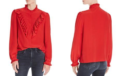 Zadig & Voltaire Taccora Deluxe Ruffled Shirt - Bloomingdale's_2