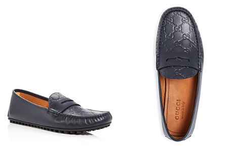 Gucci Men's New Kanye Embossed Leather Loafers - Bloomingdale's_2