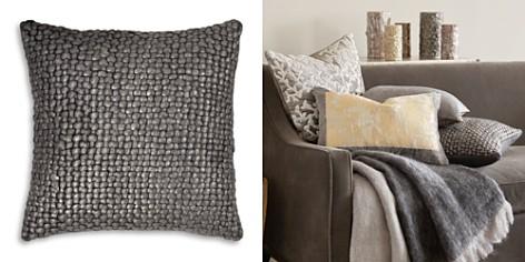 """Michael Aram Metallic Basketweave Decorative Pillow, 18"""" x 18"""" - Bloomingdale's_2"""