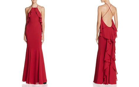 Fame and Partners The Quasar Ruffle Gown - Bloomingdale's_2