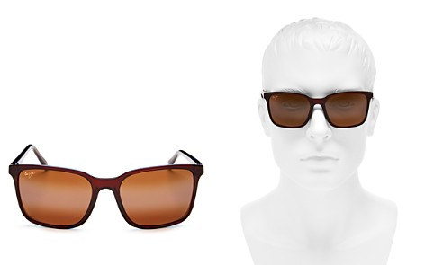 Maui Jim Wild Coast Polarized Mirrored Square Sunglasses, 59mm - Bloomingdale's_2