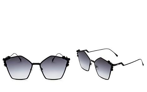 Fendi Women's Embellished Square Sunglasses, 57mm - Bloomingdale's_2