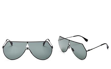 Fendi Women's Eyeline Shield Sunglasses, 55mm - Bloomingdale's_2