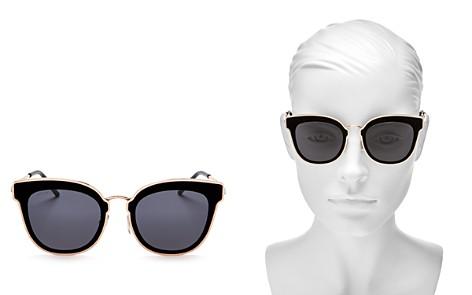 Jimmy Choo Nile Square Sunglasses, 63mm - Bloomingdale's_2