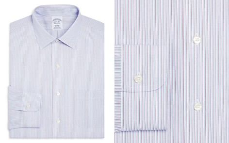 Brooks brothers bloomingdales brooks brothers regent multi stripe classic fit dress shirt bloomingdales2 reheart Images