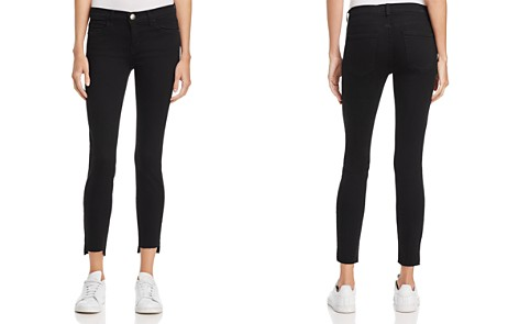 Current/Elliott The Stiletto Skinny Jeans in Jet Black - Bloomingdale's_2