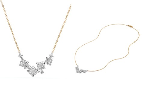 David Yurman Precious Châtelaine Necklace with Diamonds in 18K Gold - Bloomingdale's_2