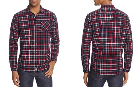Flag & Anthem Red Plaid Flannel Button-Down Shirt - 100% Exclusive - Bloomingdale's_2