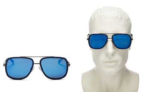 Polaroid Men's Top Bar Navigator Sunglasses, 57mm - Bloomingdale's_2