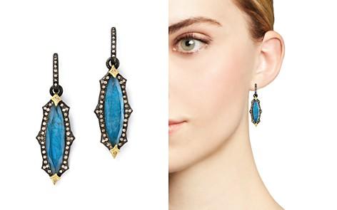 Armenta 18K Yellow Gold & Blackened Sterling Silver Labradorite Triplet Marquise Drop Earrings - Bloomingdale's_2