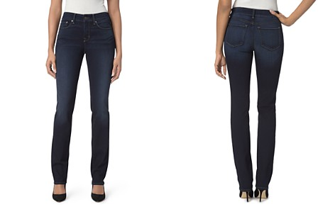 NYDJ Petites Marilyn Straight Jeans in Sinclair - Bloomingdale's_2