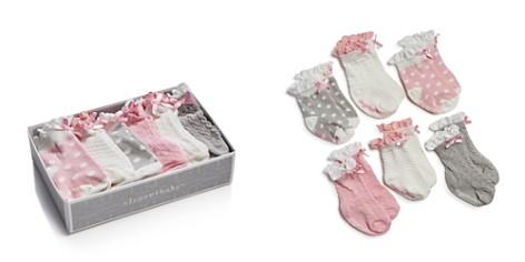 Elegant Baby Girls' Ruffled Sock Set, 6 Pack - Baby - Bloomingdale's_2
