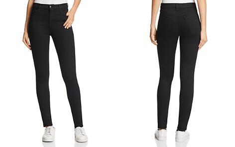 J Brand Maria High-Rise Skinny Jeans in Vanity - Bloomingdale's_2