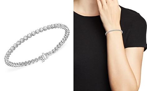Bloomingdale's Diamond Tennis Bracelet in 14K White Gold, 4.0 ct. t.w. - 100% Exclusive_2