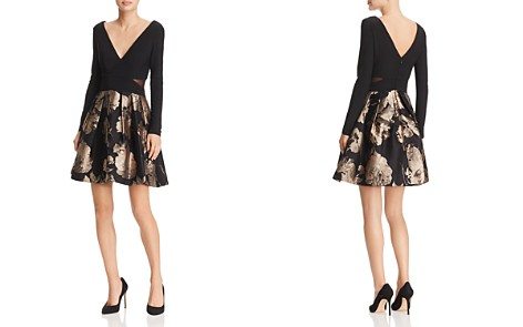 Avery G Brocade Party-Skirt Dress - Bloomingdale's_2