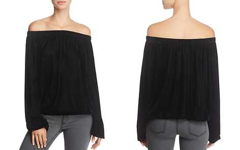 Bailey 44 Children of the Lilith Off-the-Shoulder Velvet Top - Bloomingdale's_2