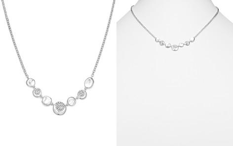 "IPPOLITA Sterling Silver Onda Diamond Frontal Station Necklace, 16"" - Bloomingdale's_2"
