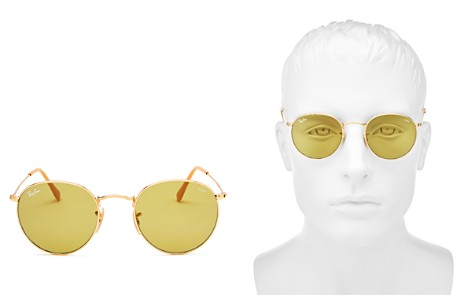 Ray-Ban Polarized Evolve Round Sunglasses, 50mm - Bloomingdale's_2