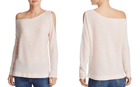 Minnie Rose Open-Shoulder Cashmere Sweater - Bloomingdale's_2