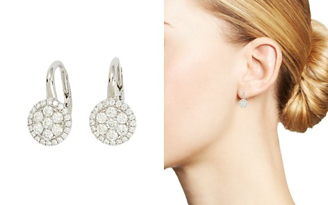 Frederic Sage 18K White Gold Firenze Diamond Small Cluster Earrings - Bloomingdale's_2
