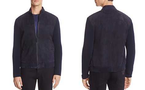 Armani Collezioni Mixed Media Jacket - Bloomingdale's_2